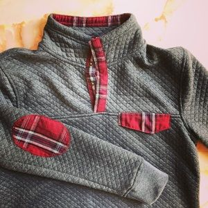 ENTRO Quilted Plaid Patchwork Jacket